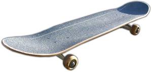 Finished Skateboard