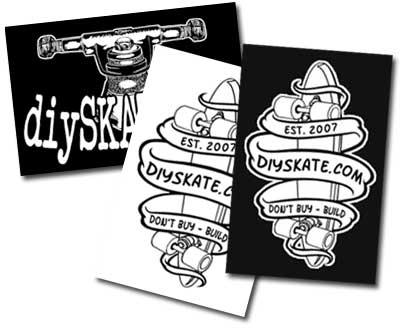 DIYskate Stickers!